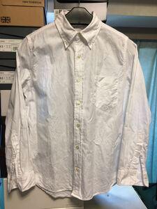 nanamica ナナミカ ボタンダウンシャツ サイズXS ホワイト 長袖シャツ PURPLE LABEL ザ ノースフェイス パープルレーベル