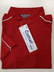 特価 TORAY コルナット 半袖ポロシャツ  クイックドライポロシャツ レッド レディース5サイズ キッズ アウトレット