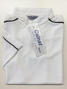 特価 TORAY コルナット  半袖ポロシャツ  クイックドライポロシャツ ホワイト レディース5サイズ キッズ アウトレット 未使用