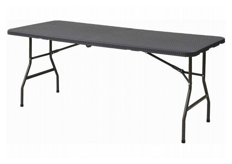 ●BB●本州送料無料/限定1点  折り畳み フォールディング ガーデンテーブル H.FT-18.76(DBR) (管理番号BH-76) ⑩