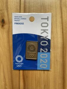東京2020 オリンピック エンブレム ピンバッジ
