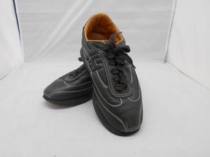 【HERMES】 エルメス 靴 シューズ クイックスニーカー レザー ブラック 黒色 SY02-AS4 ★★
