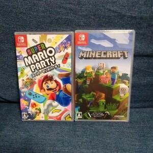【新品未開封】スーパーマリオパーティ Minecraft セット Switch マイクラ マインクラフト マリパ Switch スイッチ 任天堂 Nintendo
