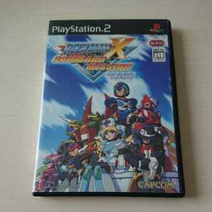 PS2 ソフト ロックマンX コマンドミッション 動作確認済 送料無料!
