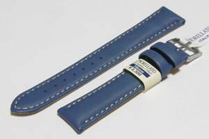 【送料無料・バネ棒付】18mm幅 モレラートCastagno(カスタンニョ) ブルー