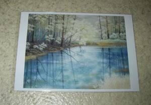 前売特典「よこがお」大石塔子の絵画ポストカード+チラシ付:筒井真理子