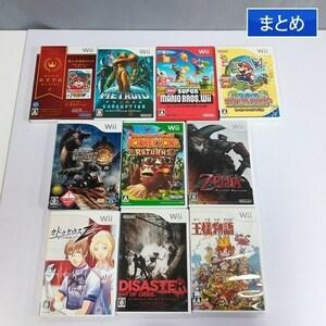 gP292a [箱説有] Wiiソフト 桃太郎電鉄2010 メトロイドプライム3 他 計10点   ゲーム X