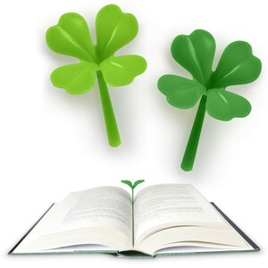 Fred Lucky Clover Bookmark Bookmark Marker 4 Set Fashionable Cute Nordic Europe