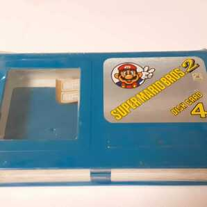 ★未使用・希少 ディスクカードフォー色ブルー ディスクカード4枚収納マリオケース FCファミコンディスク