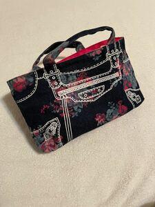 ♪バッグインバッグ♪ 可愛い トートバッグにちょうどいいサイズ 収納たっぷり!
