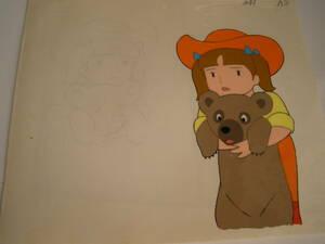 シートン動物記 くまの子ジャッキー セル画10枚セット