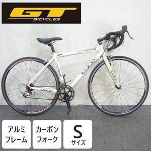 ロードバイク GTシリーズ4 GTR Sサイズ アルミフレーム カーボンフォーク 2×9 700×23C SHIMANO SORA R500 ●