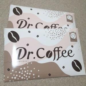 2セット! ドクターコーヒー カフェラテ味 30包