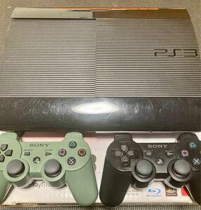 PS3 本体 CECH-4000B 250GB コントローラー2台 トルネ