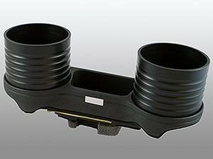 【ALCABO/アルカボ】 ドリンクホルダー ブラック カップ タイプ BMW 5 Series MC前 セダン(E60)/ツーリング(E61)/M5 [AL-076C-B]