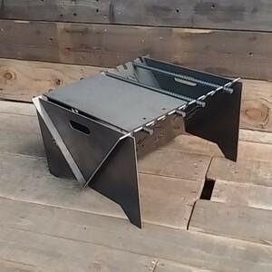 無骨 焚き火台 ハンドメイド フルセット 自作 オリジナル 組み立て式 焚火台