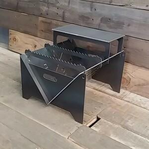 焚き火台 BBQ台 オリジナル 自作 ハンドメイド 焚火台 BBQコンロ
