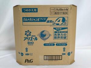【送料無料】アリエール BIOジェルボール ウルトラジャンボ 63個 × 4袋