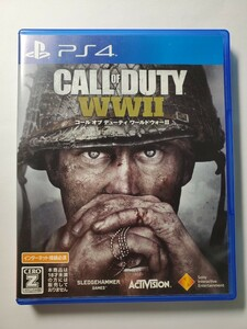 コールオブデューティ WW2 PS4ソフト