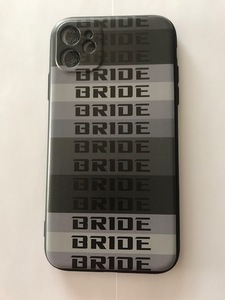 free shipping!... no! conspicuous?.. having not? BRIDE Logo iphone11 for silicon case