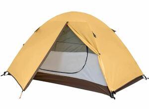 TOMOUNT ソロキャンプ ツーリングテント 1人用  ソロ ドームテント 高耐水 防水 軽量 アルミフレーム 災害対策