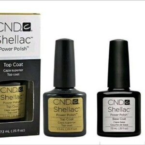 CND Shellac トップコート&ベースコート
