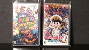 桃鉄 スーパーマリオ 3Dワールド+フューリーワールド ニンテンドースイッチ Nintendo Switch 桃太郎電鉄 昭和