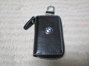 BMW オリジナル スマートキー高級レザーケース ブラックレザー