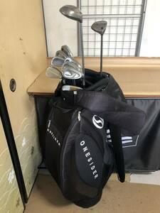 中古 ゴルフクラブセット[右用]CALLAWAY GREAT BIG BERTHA / YONEX CYBERSTAR(7I/SWは他品) 等 中古キャディバッグ付 10本【1783】