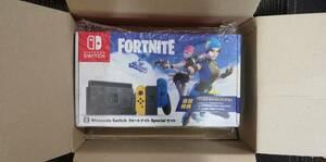 ☆新品・送料無料☆ Nintendo Switch:フォートナイトSpecialセット 特典コードなし