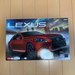 未開封LEXUS LS460 Fスポーツ RED ラジコン