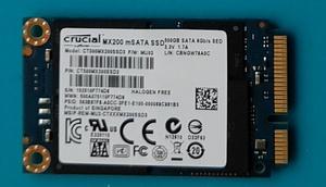 Crucial mSATA 内蔵 MLC SSD MX200 500GB SATA3 6Gbps CT500MX200SSD3