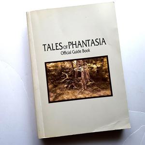 『TALES of PHANTASIA』オフィシャルガイドブック。徹底攻略。中古です。表紙カバーなし。料込550円。