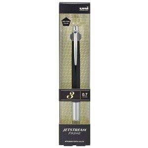 【送料無料 新品】三菱鉛筆 ジェットストリームプライム ノック式3色ボールペン SXE3-3000-07 T.24【メーカー完売 廃番】