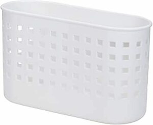 ホワイト ライクイット ( like-it ) キッチン収納 マグネット バスケット ミニ 幅25.6x奥11x高15.5cm