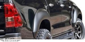 【M's】トヨタ ハイラックス Zグレード (2017.9-) ARTISAN SPIRITS オーバーフェンダーキット 6P//FRP エアロ アーティシャンスピリッツ