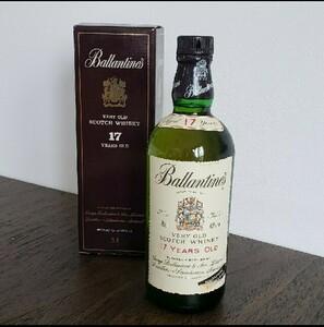 バランタイン17年 ベリーオールドスコッチウイスキー