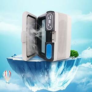 ホワイト HANSHUMY 冷蔵庫 12L -10℃~65℃ ポータブル 冷温庫 小型 ミニ コンパクト 保冷 保温 冷蔵 温蔵