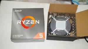 AMD Ryzen 5 3500用 箱&未使用クーラー