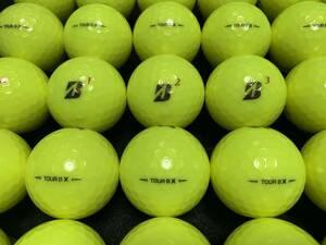 優良品!☆☆☆ランク ②ロストボール 2020年モデル ブリヂストンゴルフ TOUR B X BRIDGESTONEGOLF TOUR B X イエロー
