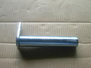 ユンボ バケットピン グリス穴あり径40mm全長221mm首下210mm