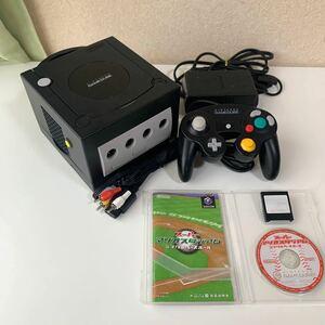 北米モード スイッチ付き ゲームキューブ コントローラー 任天堂 Nintendo メモリーカード GAMECUBE セット