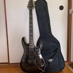 ■【良品 純正ソフトケース付属 】シェクター SCHECTER DIAMOND Series HELLRAISER エレキギター