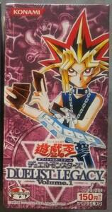 遊戯王 カードゲーム デュエリストレガシー / DUELIST LEGACY Volume.1 未開封