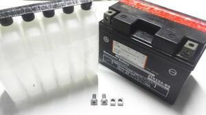 送料無料(03)GSX400E GSX250E GSX450E バッテリー 高性能 ゴキ用