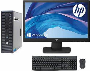 【HP 22インチフル/HD液晶セット】 HP 600/800 G1 SFF/i5-4570/RAM:16GB SSD:512GB/DVD/Office/KB&マウス付/WiFi/Win10(整備済み品)