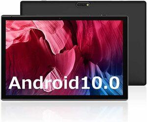 ■新品■ZZB タブレット 10.1インチ ZB10 IPS Android 10.0 RAM2GB/ROM32GB Wi-Fiモデル デュアルカメラ GPS FM機能搭載