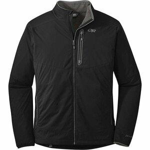 アウトドアリサーチ メンズ Outdoor Research Men's Ascendant Jacket Black / Pewter 【サイズ XL】