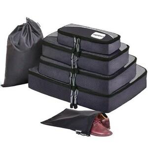 新品未使用 HOPERAY スーツケース アレンジケース オーガナイザー トラベル ポーチ 整理整頓 インナーバッグ 色ブラック