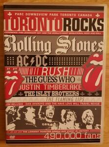 トロントロックス (ライブDVD)ローリングストーンズ、AC/DC THE ROLLING STONES